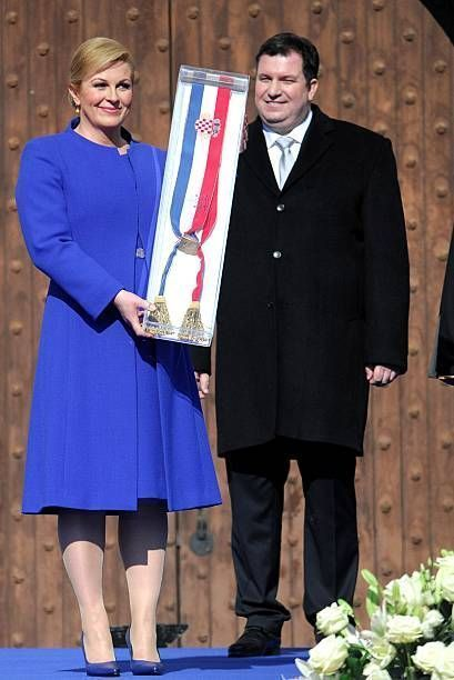Swearing-in ceremony of Croatia's new president Kolinda