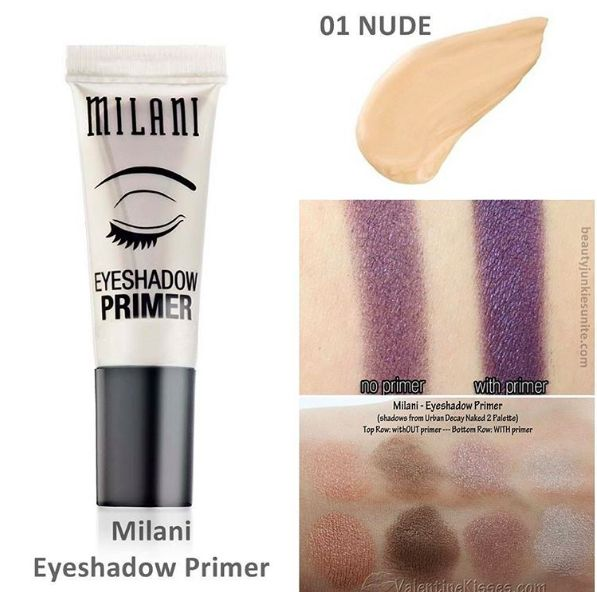 Eye shadow primer from Milani that works like a dream on oily lids. | 42 Cheap Products Makeup Addicts Swear By