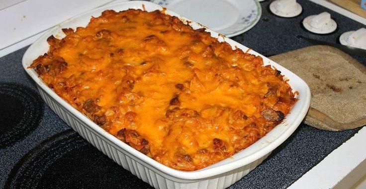 I had no idea who Johnny Marzetti was... but I knew I had to try this yummy casserole.