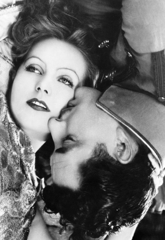 Greta Garbo and John Gilbert in Flesh and the Devil, 1926