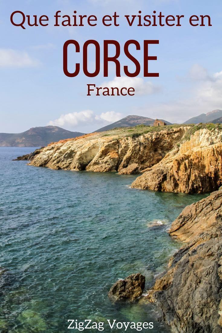 Corse Voyage Comment Profiter A Fond Des Magnifiques Paysages De La Corse Road Trip Plages Tours En Bateaux C Vacances Corse Corse Voyage Paysage Corse