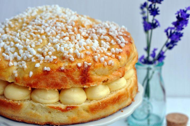 Voyage au pays de la patisserie: La tarte tropézienne