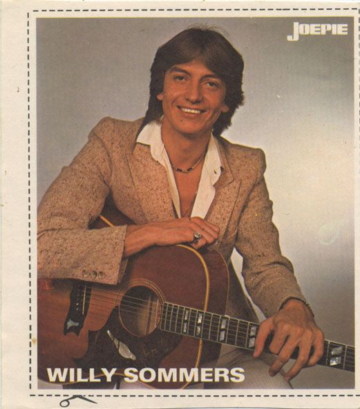 Willy Sommers sticker