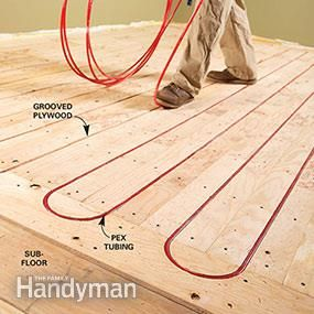 Electric vs. Hydronic Radiant Heat Systems | The Family Handyman