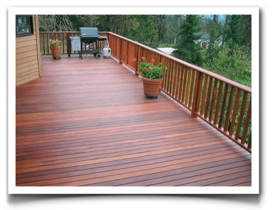how to clean trex deck stains