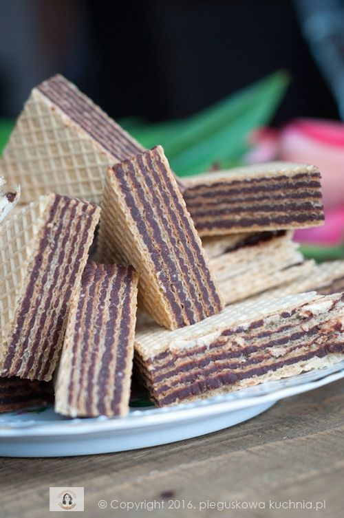 wafelki kakaowe
