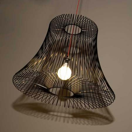 111 best lighting images on pinterest lighting ideas home and live wire basket lamp shade greentooth Images