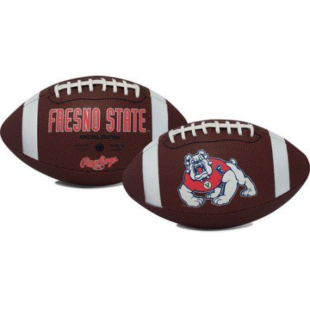 Fresno State University Bulldogs Rawlings Game Time Full Size Football Team Logo, Brown