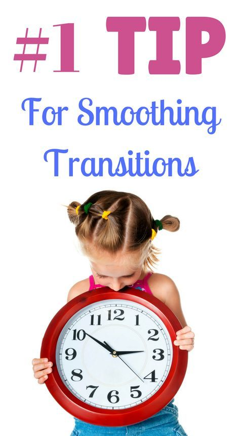Click for the best tip to smooth transitions! | Child Behavior Management Tips | #parentingtips