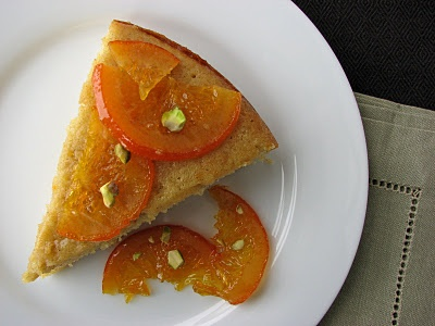 Olive Oil Cake with Candied Orange | Food | Pinterest