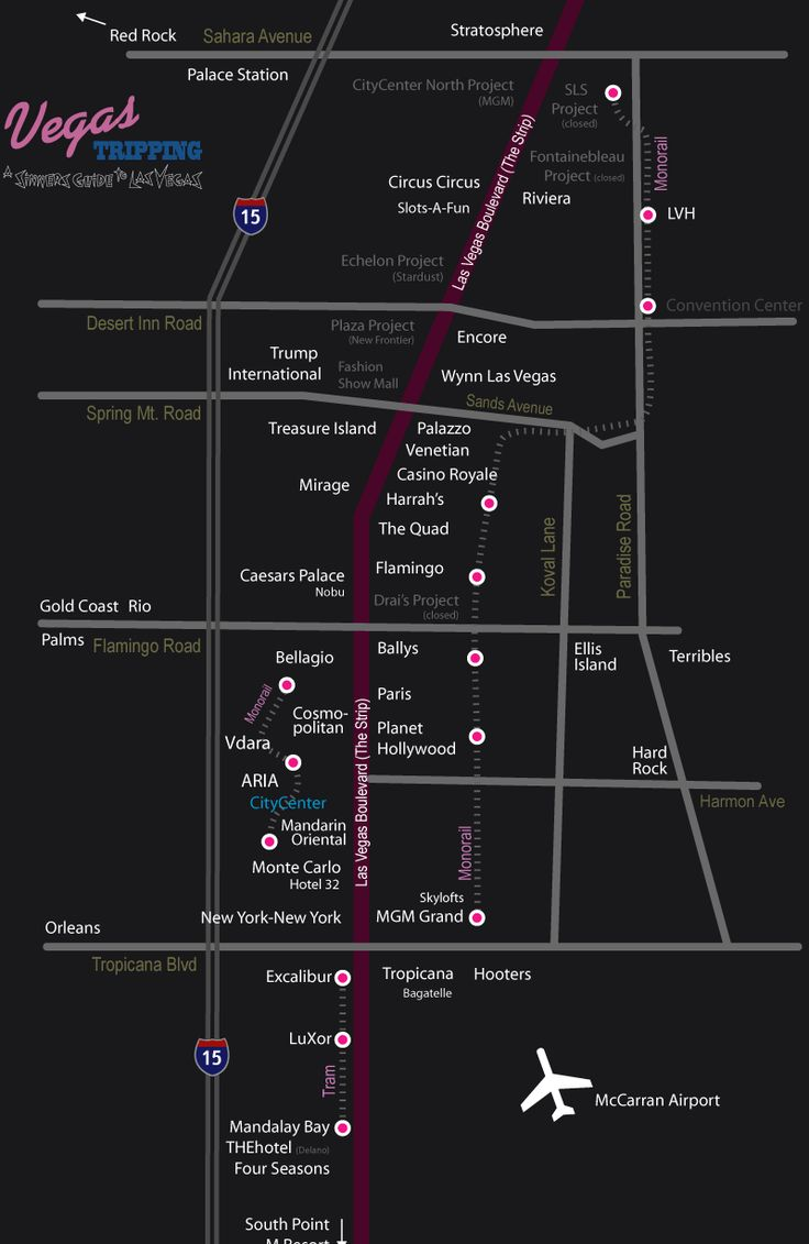 Best Ideas About Map Of Las Vegas On Pinterest Las Vegas - Map of north america las vegas