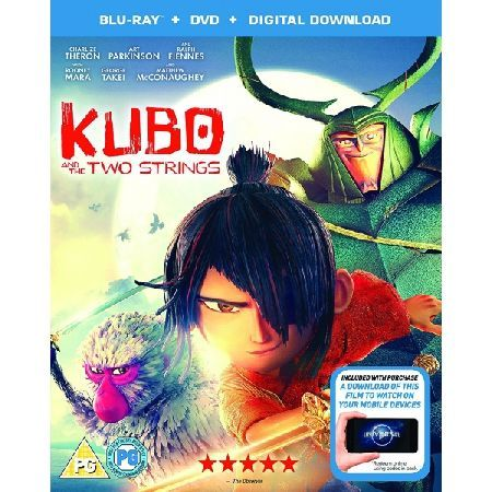 KUBO And The Two Strings DVD Blu-ray Digital Please note this is a region 2 DVD and will require a region 2 or region free DVD player in order to play Young Kubo39
