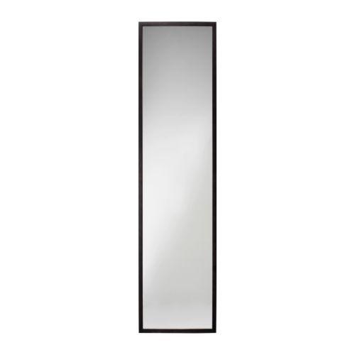 STAVE Lustro - czarnobrąz, 40x160 cm - IKEA