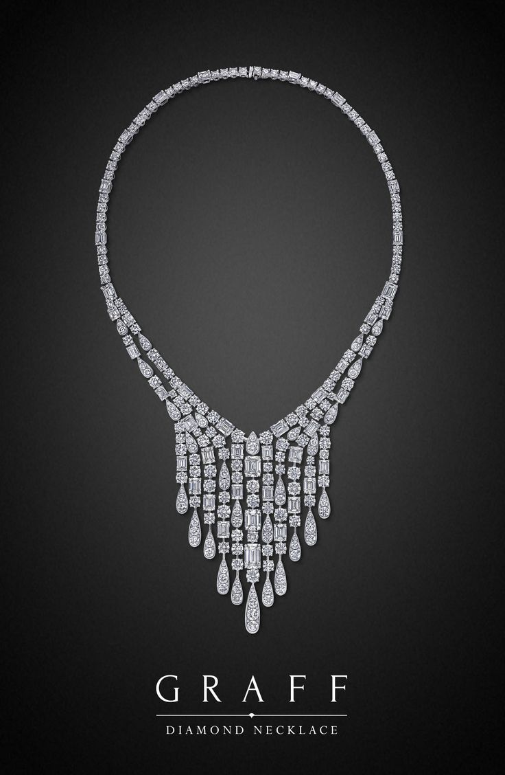 Graff Diamonds Diamond Necklace 86 12 Carat Total Weight