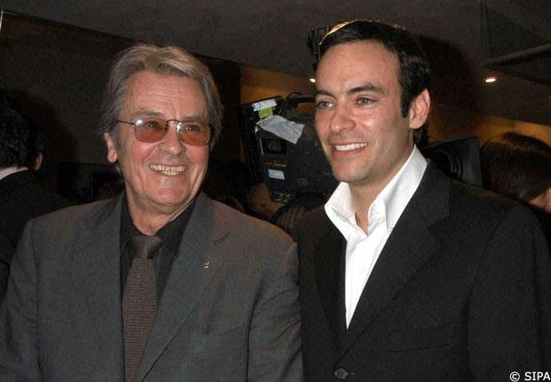 Alain Delon Et Son Fils Anthony Delon Anthony Delon Alain Delon Delon
