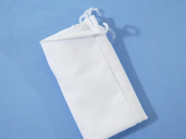 Fold the cuffs so the seam is in the middle