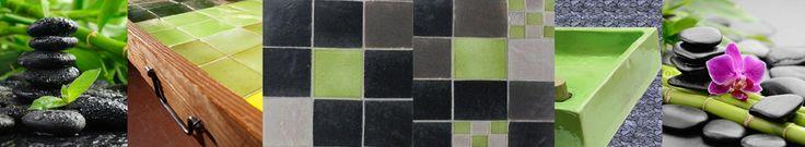 Pour carreler votre plan de travail, crédence de cuisine, sol et mur de salle de bain, la décoratrice des Terres cuites de Raujolles a imaginé pour vous des associations de faïences de couleur. Laissez-vous emporter par Nagpura pour adoucir votre intérieur !