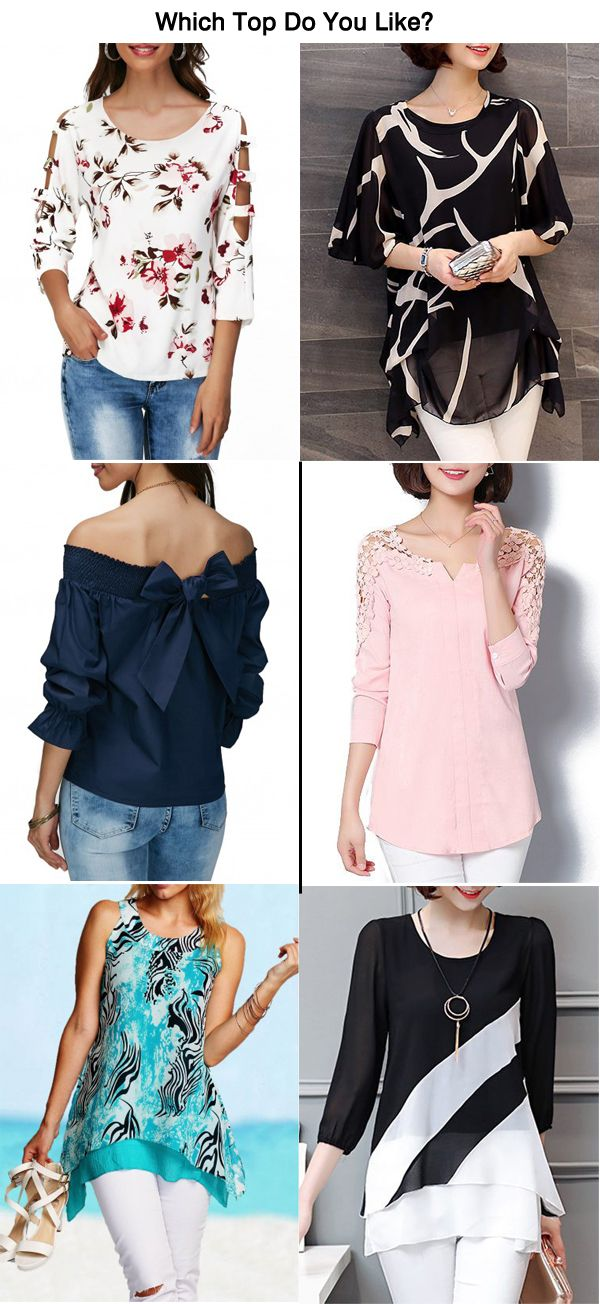 Hot Sale Tops For Women 2017