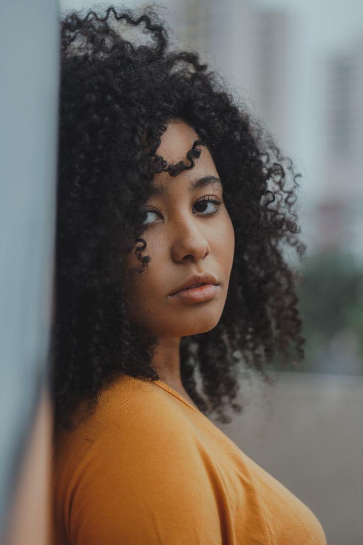 Human Hair Afro Frisur Style Woman Longhair Frisuren Afro
