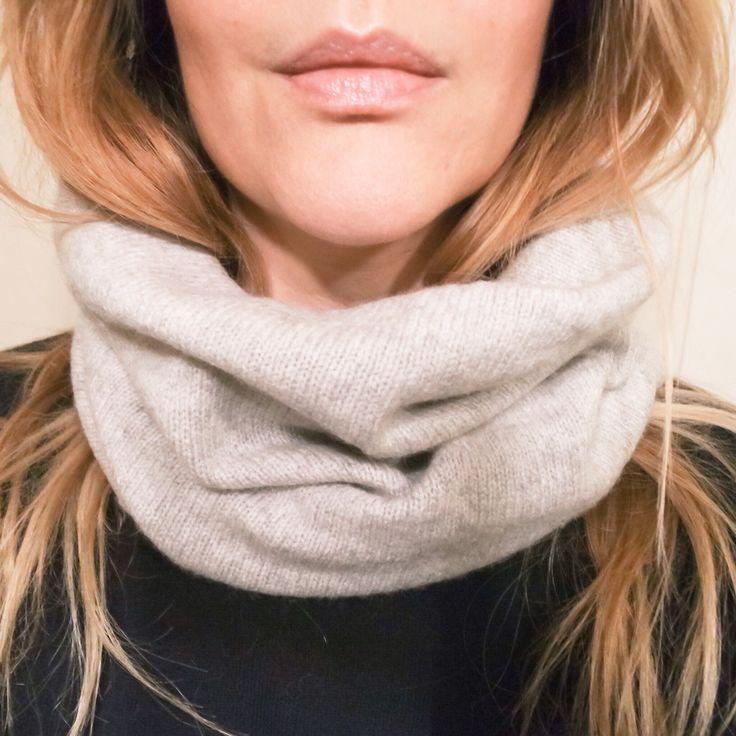 Tube scarf.