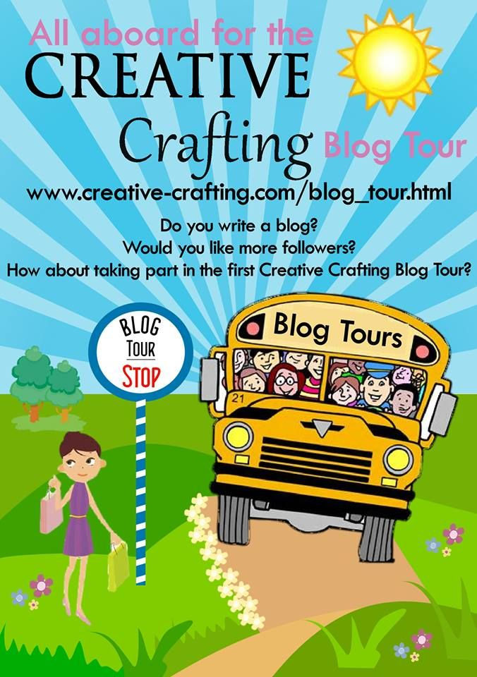 Creative Crafting Summer Blog Tour August 2013 Do you have a blog? Let us bring our readers to your blog. http://creative-crafting.com/blog_tour.html