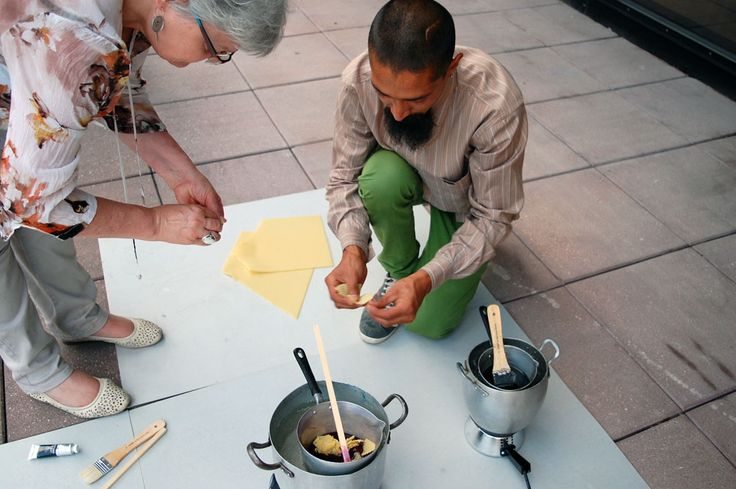 """""""Segni di cera"""", workshop Mart by Night curated by David Aaron Angeli"""