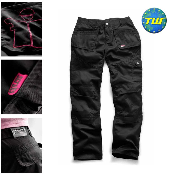 http://www.twwholesale.co.uk/product.php/section/10257/sn/Scruffs-Women-Trousers-12  Scruffs Womens Worker Plus Trousers are a relaxed fit polycotton work trouser built for hardworking female workers. Fitted with bottom loading knee pad inserts made from 100% hardwearing nylon fabric and equipped with reinforced stitching, these Scruffs work trousers are the perfect wear for women on demanding sites.