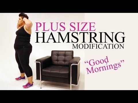 Tricep Dip Exercise Modification - plus size - workout - episode 10 - YouTube