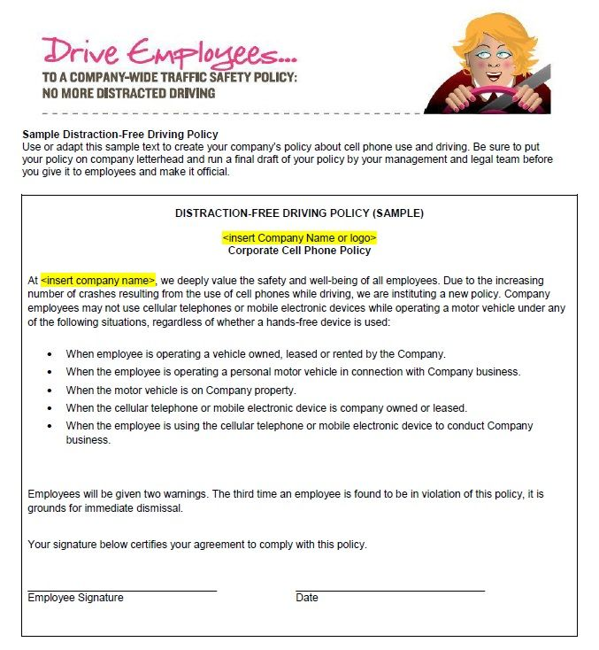 Cell Phone Policy Template For Companies Corporate Restaurants Template Sumo Policy Template Cell Templates