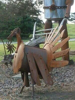 Great way to use some old junk :-)