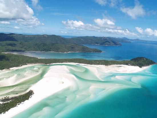 #Hamilton Island #Whitsundays #Australia: Whitehaven Beach http://www.tripadvisor.com.au/ShowForum-g255074-i1309-Great_Barrier_Reef_Queensland.html