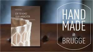 #Handmade_in_Brugge ... een interessant initiatief  #Handmade_in_Bruges geeft ambachtelijke makers actief in de stad meer zichtbaarheid door het toekennen van een kwaliteitslabel.  Ontdek tal van inspirerende Brugse makers en ambachtslui, hun shops, ateliers en andere sporen in de stad via een interactief plan http://www.handmadeinbrugge.be/Stadsplan/Stadsplan  http://www.handmadeinbrugge.be/ http://www.hotelnavarra.com/en/info/151/Visit-Bruges.html