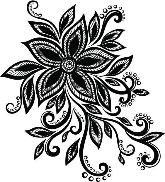 Los arabescos son diseños armoniosos que se suelen utilizar como complemento de otras figuras en un tatuaje. Generalmente estos modelos son los preferidos por las chicas, que ven en estas formas algo sutil que suaviza el contorno de cualquier tipo de tatuaje, aportándole femineidad y gracia.Se dice que el origen de e