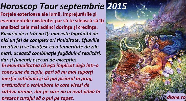 Horoscop Taur septembrie 2015