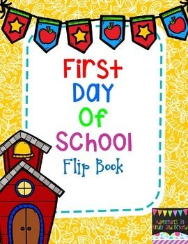 First Day of School - Have your students make this cute First Day of School flip book to help them remember their very first day!This fun book will include a page about their teacher, their classroom, what is in their backpack,what they did over the summer and what they hope to learn this year.This Back to School Flip Book is a quick activity that is perfect for the first day or week back to school