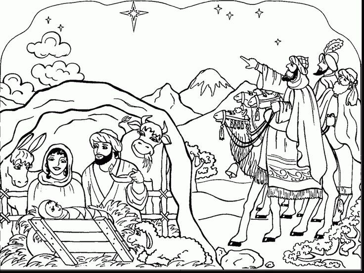 good printable nativity coloring pages for kids with christmas coloring pages for adults and christmas coloring pages for adults