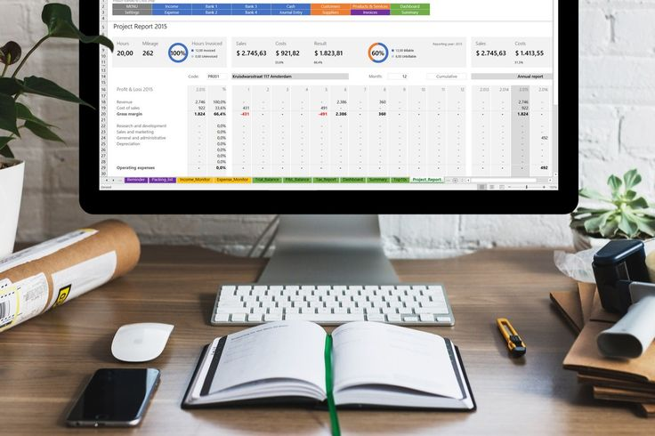 All Excel Accounting and Bookkeeping Solution  Template