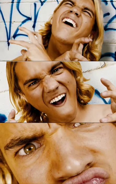 Emile Hirsch as Jay Adams. What a little weirdo