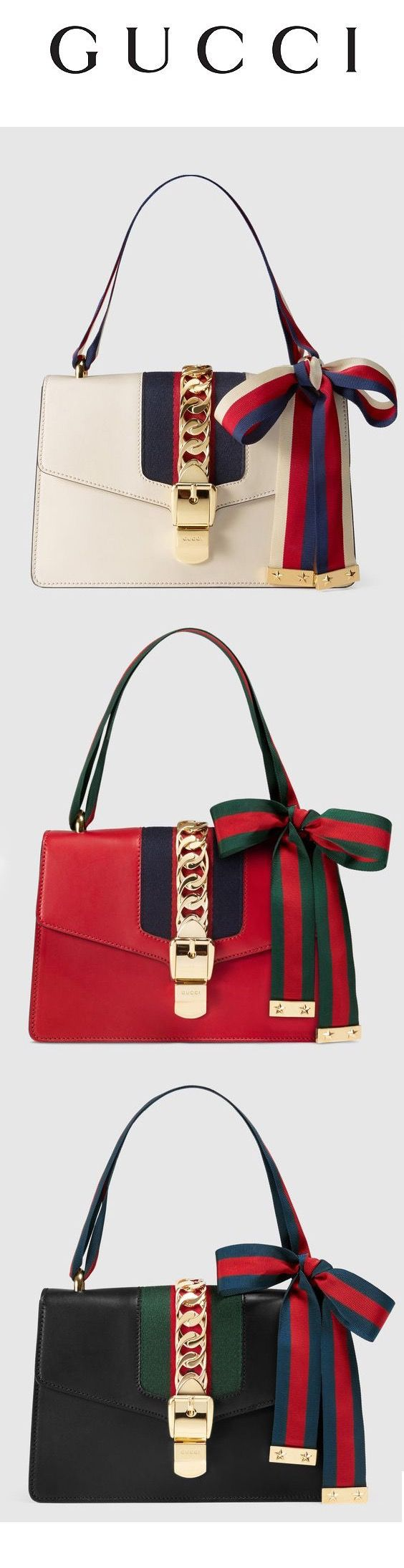#Gamine and Gucci go hand in hand! Lots of color and strong, straight lines bring out the best of the #BoldBeauty