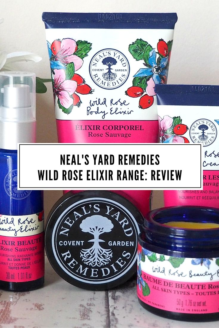 London Beauty Queen Blog Post: Click through to read the full review of Neal's Yard Remedies Wild Rose Elixir products. Luxury London beauty company: Organic Skin Care, Natural Remedies. Like this? Don't forget to share it!