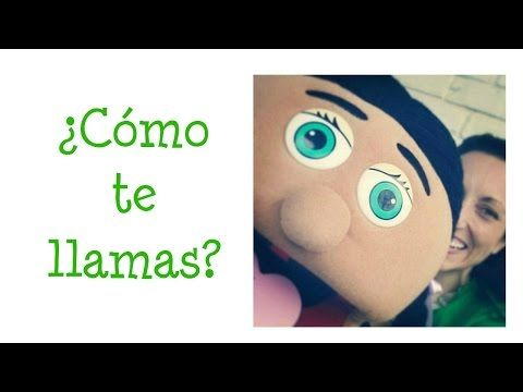 ¿Cómo te llamas? Preschool/Elementary Spanish lesson for children - YouTube