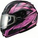 GMax GM64S Modular Carbide Womens Snowmobile Helmets