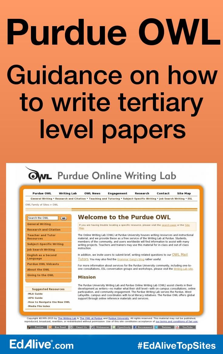 17 best ideas about online writing lab purdue logo purdue owl guidance on how to write tertiary level papers an online writing lab