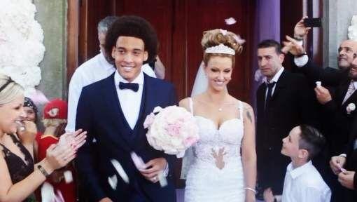 Huwelijk Axel Witsel