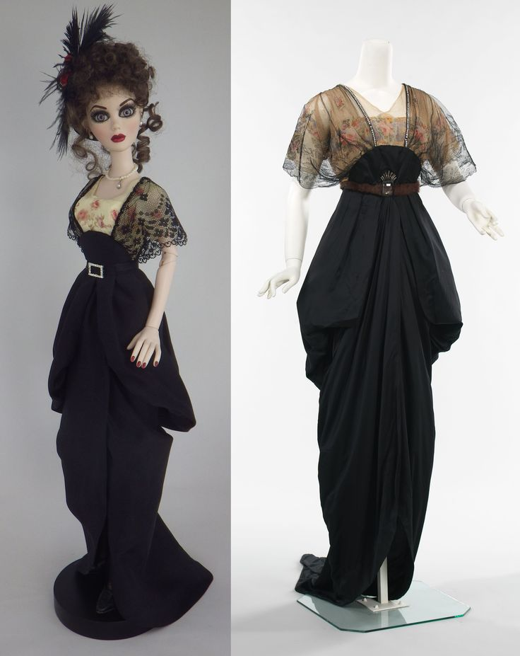 1913 Dinner Dress inspired by a dress in the Met by Marian Jasper