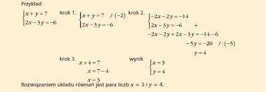 Znalezione obrazy dla zapytania rozwiązywanie prostych równań liceum