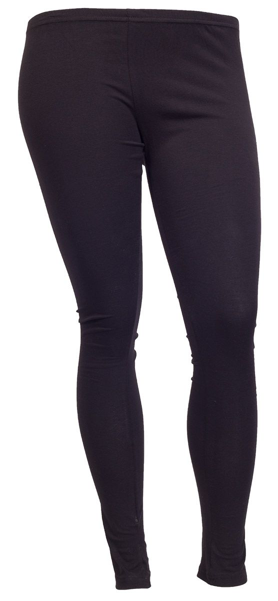 Super seje Sorte Basis Leggings Zhenzi Modetøj til Damer i luksus kvalitet