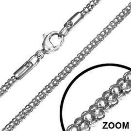 Mannen ketting Rvs edelstaal Snake M090   MANNEN KETTINGEN   Idhuna Jewels - Fashion sieraden