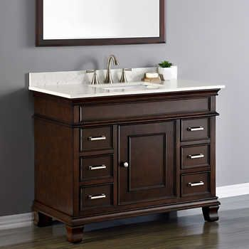 34 best bathroom remodeling images on pinterest bath remodel bath vanities and bathroom for Costco vanities for bathrooms