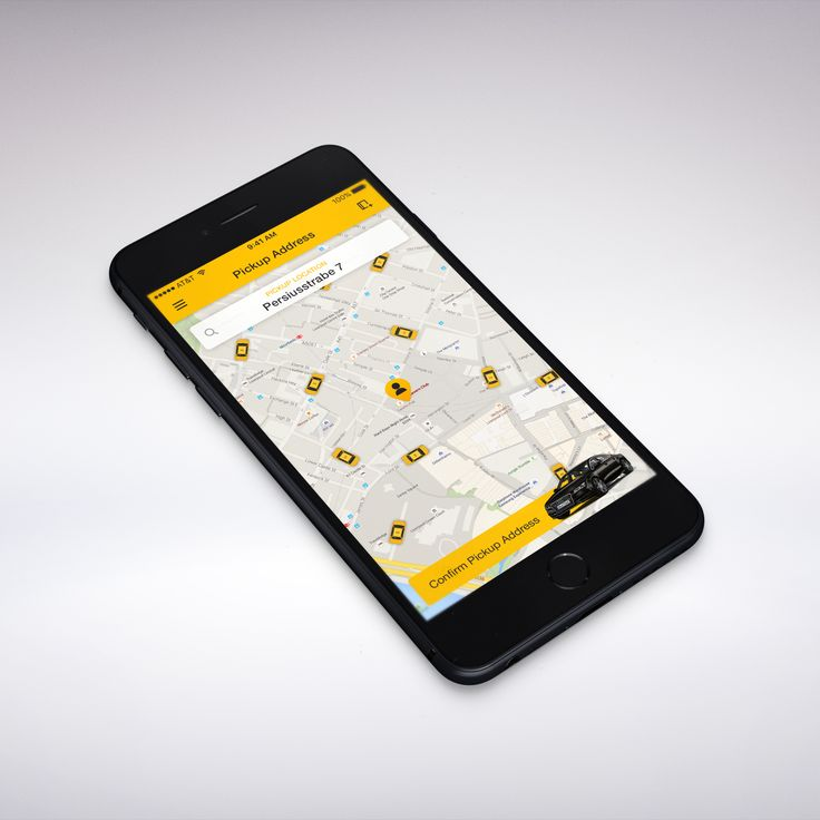 Design #51 by MaliaCreativeWorks | Taxi App
